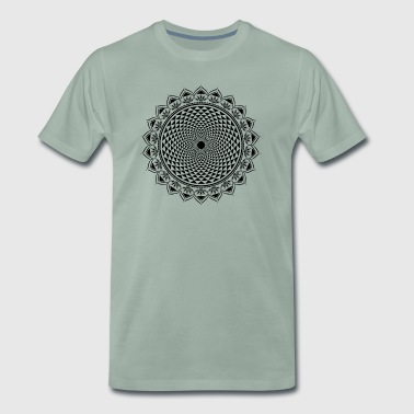 Crown Chakra, Buddhism, Yoga, Spirituality - Men's Premium T-Shirt