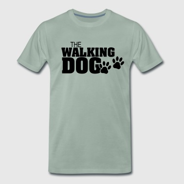 Walking Hund - Version03 - Herre premium T-shirt