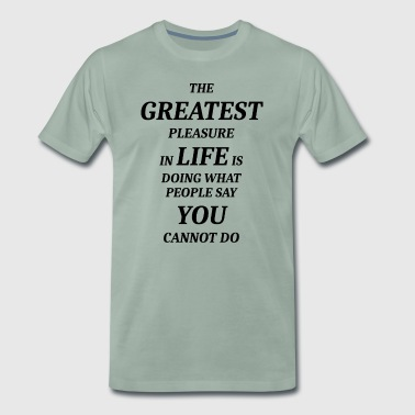 GREATEST - Mannen Premium T-shirt