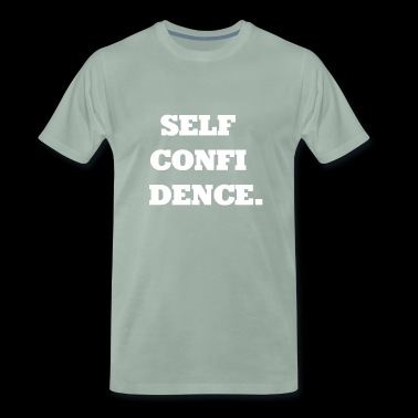 Selfconfidence / self-confidence / gift - Men's Premium T-Shirt