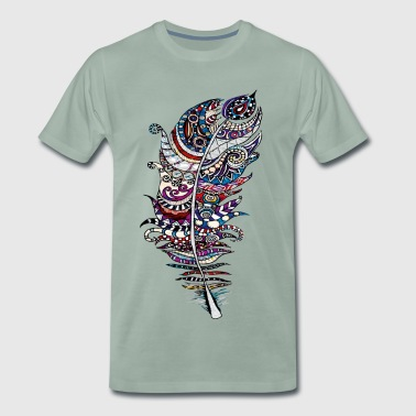 Feather For Heather - Men's Premium T-Shirt