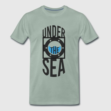 Under havet - Premium-T-shirt herr