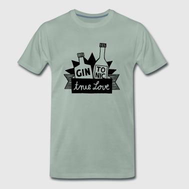 Gin Tonic True Love - Männer Premium T-Shirt