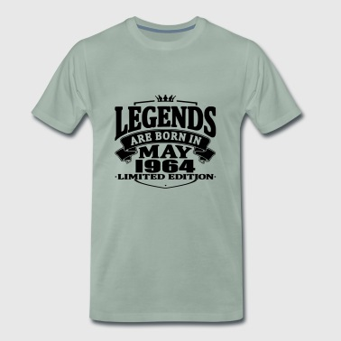 Legends are born in may 1964 - Men's Premium T-Shirt