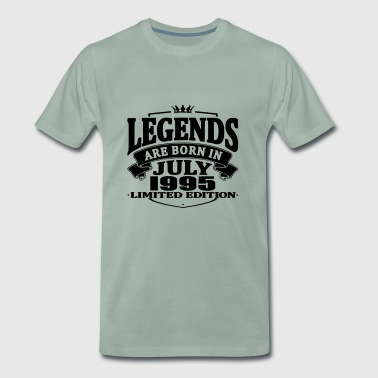 Legends are born in july 1995 - Men's Premium T-Shirt
