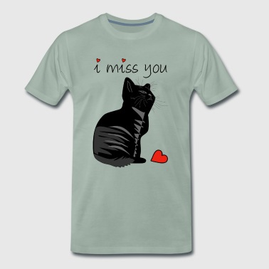 I MISS YOU - Männer Premium T-Shirt