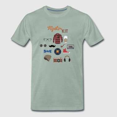 hipster kit - Men's Premium T-Shirt