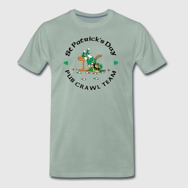 Irish Pub Crawl-Team - Männer Premium T-Shirt