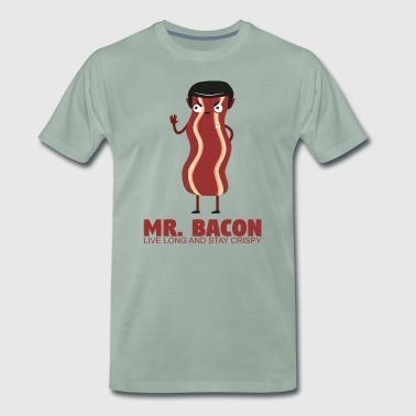 Mr.Bacon - Live long and stay crispy - Men's Premium T-Shirt