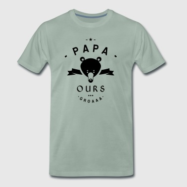 PAPA-OURS - T-shirt Premium Homme