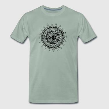 Rotational Mandala - Men's Premium T-Shirt