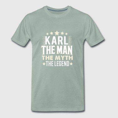 Karl - Premium T-skjorte for menn