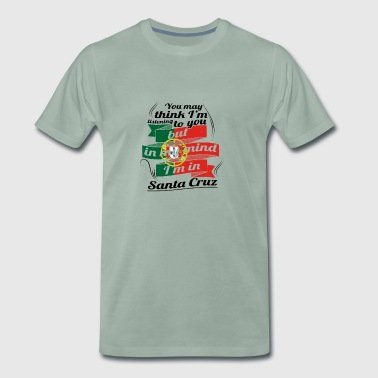 URLAUB HOME ROOTS TRAVEL I M IN Portugal Santa Cru - Männer Premium T-Shirt