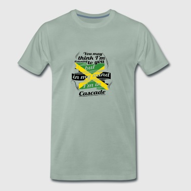 HOLIDAY JAMESICA ROOTS TRAVEL IN Jamaica Cascade - Men's Premium T-Shirt