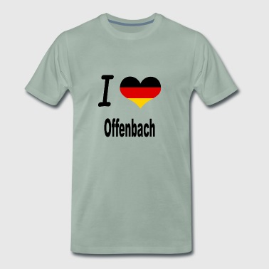 I Love Germany Home Offenbach - Männer Premium T-Shirt