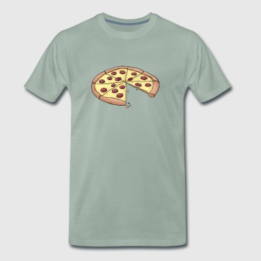 Pizza for parents-baby-partnerlook - Men's Premium T-Shirt