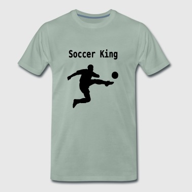 Soccer King - Men's Premium T-Shirt