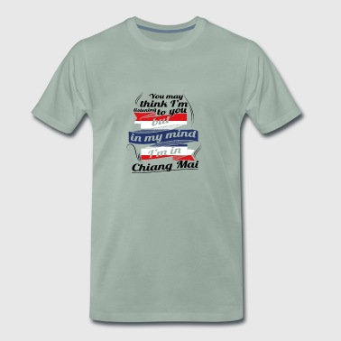 HOLIDAY HOME ROOTS TRAVEL IN Thailand Chiang Ma - Men's Premium T-Shirt