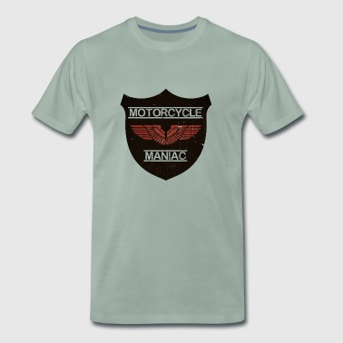 Motorcycle Maniac - Red Wing - Männer Premium T-Shirt