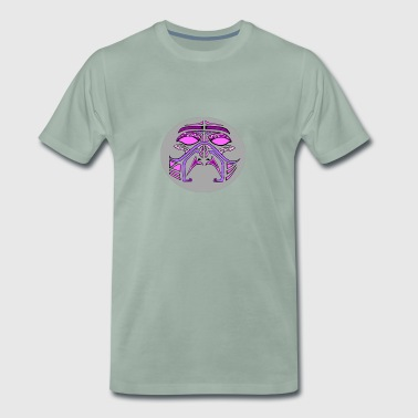 pink mask - Men's Premium T-Shirt