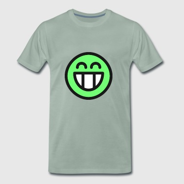 Lachender Smiley (LOL) - Männer Premium T-Shirt