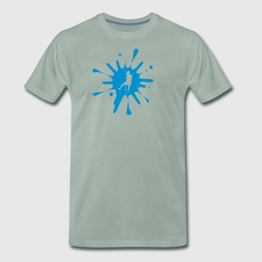 cs Canyoning Splash - Men's Premium T-Shirt