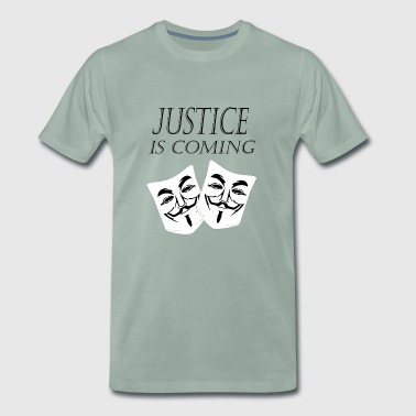justice is coming - Men's Premium T-Shirt