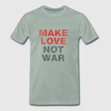 peace - Make love not war - Männer Premium T-Shirt