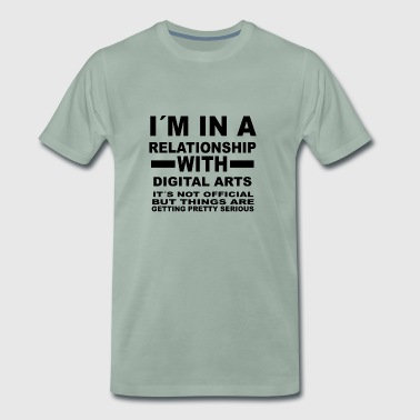 relationship with DIGITAL ARTS - Men's Premium T-Shirt