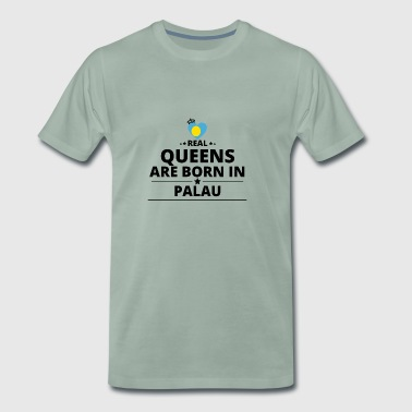 GAVE FRA QUEENS LOVE PALAU - Premium T-skjorte for menn