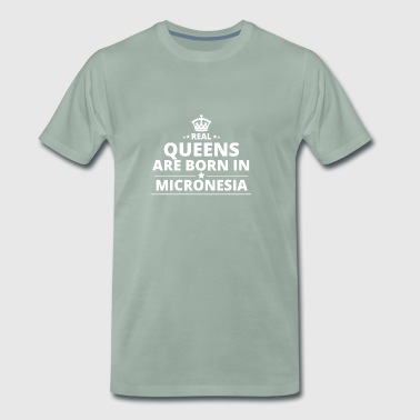 LOVE GIFT queensborn in MICRONESIA - Men's Premium T-Shirt