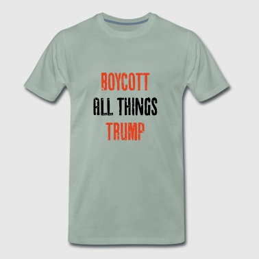 BOYCOTT TRUMP - Men's Premium T-Shirt