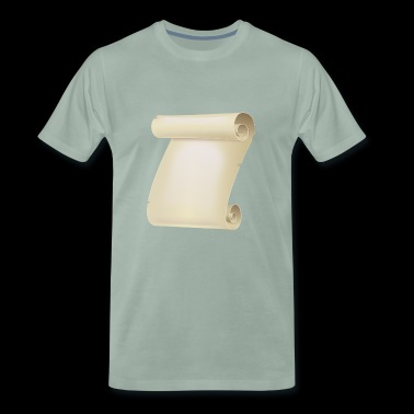 Parchment roll - Men's Premium T-Shirt