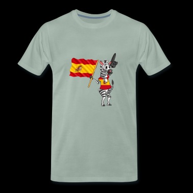 Spaniard zebra - Men's Premium T-Shirt