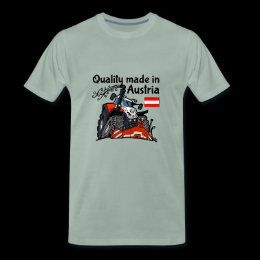 Quality made in Austria STEYR - Mannen Premium T-shirt