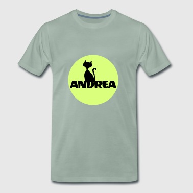 Andrea First name Names Name gifts Christening gifts - Men's Premium T-Shirt