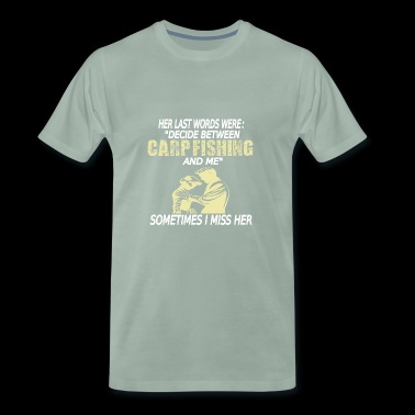 Carpfishing carp fishing carp fishing carp - Men's Premium T-Shirt