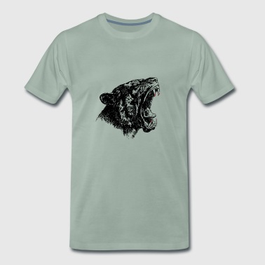 cat Black Panther - T-shirt Premium Homme