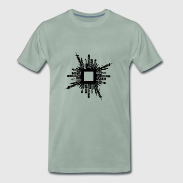 City - Mannen Premium T-shirt
