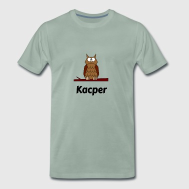 Kids School Born Owl Motif Kacper - Men's Premium T-Shirt