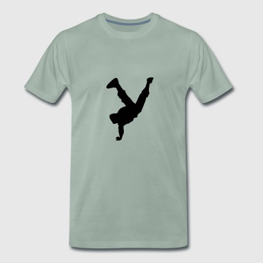 break dancing - Men's Premium T-Shirt