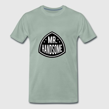 MR HANDSOME - Men's Premium T-Shirt