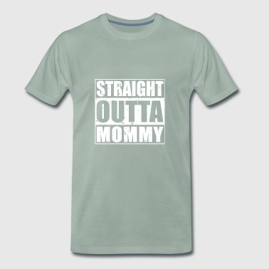 Stocker Straight Outta design Maman - T-shirt Premium Homme