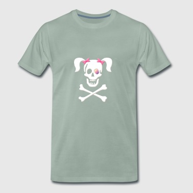 Pirates tispe, pirat brud, Pirate - Premium T-skjorte for menn