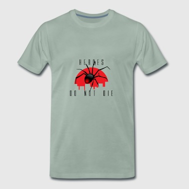 Spiderman, Spider, Spider, Hero, Hero - Mannen Premium T-shirt