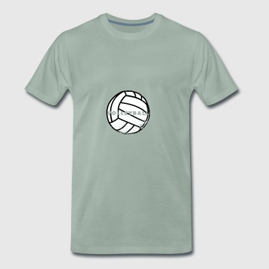 Volleyball Team Club Shirt Passion Gift - Men's Premium T-Shirt