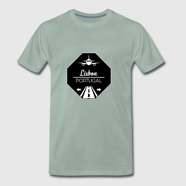 Lisbon, Portugal - Men's Premium T-Shirt