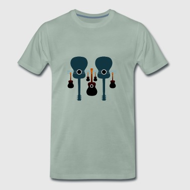 Acoustic guitars - Men's Premium T-Shirt