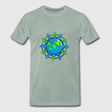 World Community - Mannen Premium T-shirt