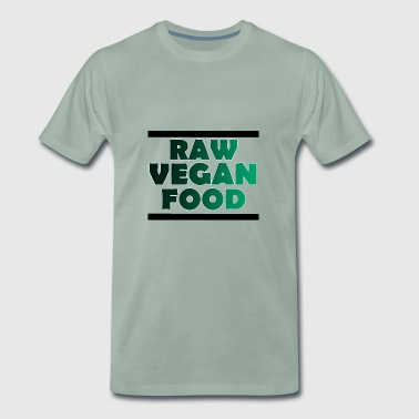 Raw vegan food - Men's Premium T-Shirt
